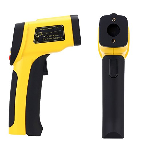 Digital Infrared Thermometer Double Laser High Precision IR Temperature Gauge Tester Pyrometer -50-1050C(-58-1922Fahrenheit) by Digital Infrared Thermometer (Image #1)