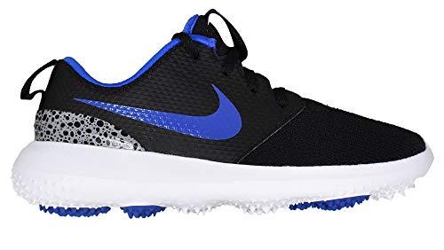 Nike Golf- Juniors Roshe G Shoes Black/Game Royal/White ()