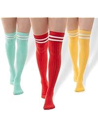 ad9f6575e60 3 Thigh Length Socks