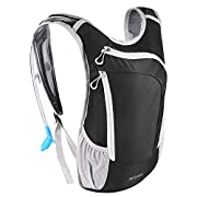 Kuyou Hydration Pack,Hydration Backpack with 2L Hydration Bladder Lightweight Insulation Water Pack for Running Hiking…