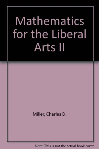 Mathematics for the Liberal Arts II