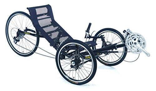 Trident Adult Recumbent Tricycle 24 Speed