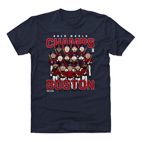 500 LEVEL Boston Baseball World Series Cotton Shirt Medium True Navy - Boston Baseball 2018 World Champs - Champ T-shirt Jersey