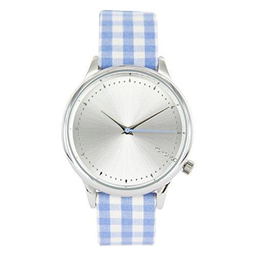 KOMONO Reloj de mujer - Estelle Vichy Blue