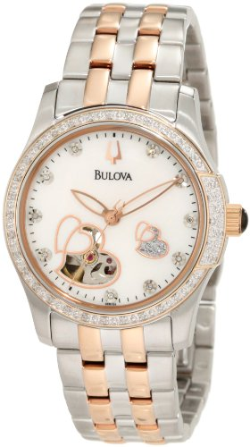Bulova Women's 98R154 BVA-Series 130 Mother of Pearl Dial Watch