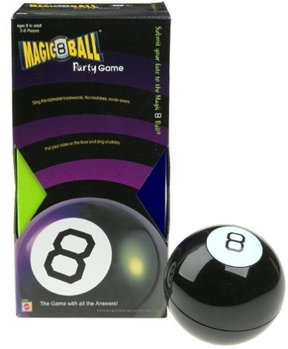 MAGIC 8 Ball Party Game by Magic 8 Ball by Magic 8 Ball