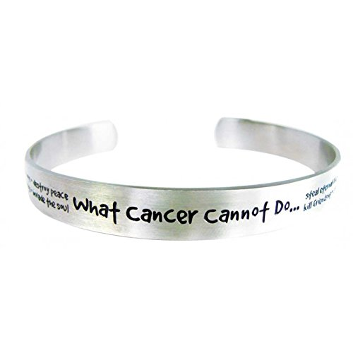 What Cancer Cannot Do Womens Cuff Bracelet