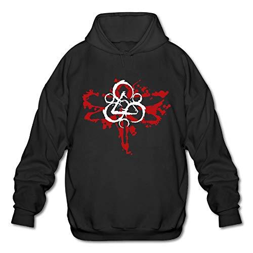 Exuaneroal Men Coheed Cambria Men's Graphic Leisure Black Sweater 3X - Cambria Hanging
