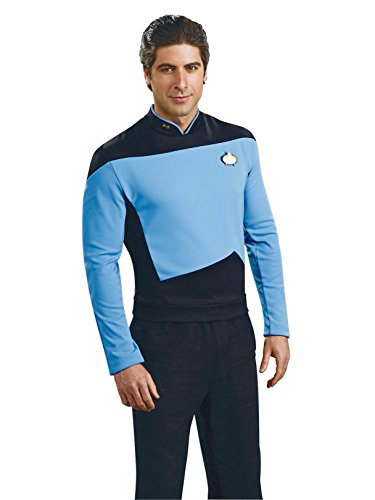 Rubie's Star Trek The Next Generation Deluxe Science Officer Adult Costume Shirt, Medium ()