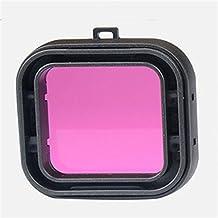 Underwater Diving Lens UV Filter Converter for GoPro Hero 4/3+ - Purple