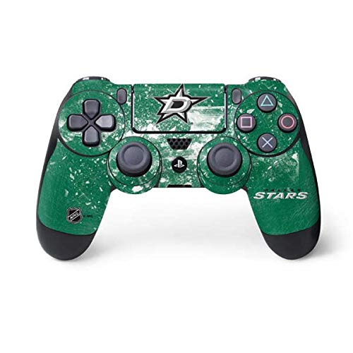 Skinit Decal Gaming Skin for PS4 Controller - Officially Licensed NHL Dallas Stars Frozen Design by Skinit