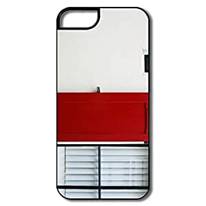 IPhone 5 5S Covers, Window House White/black Covers For IPhone 5S