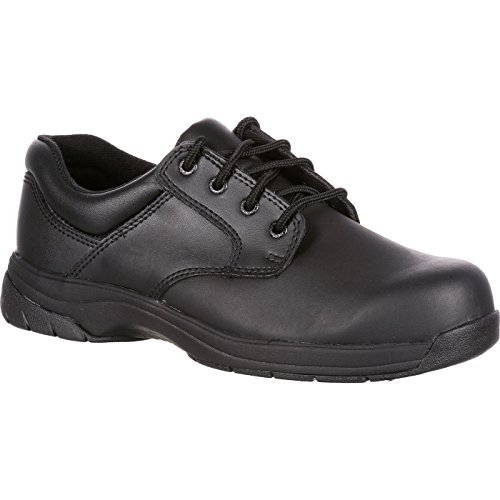 - Rocky Duty Men's Slip Stop Dress Oxford,Black,9.5 W