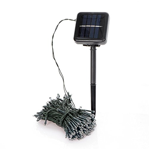 Outside Christmas Lights Solar Powered