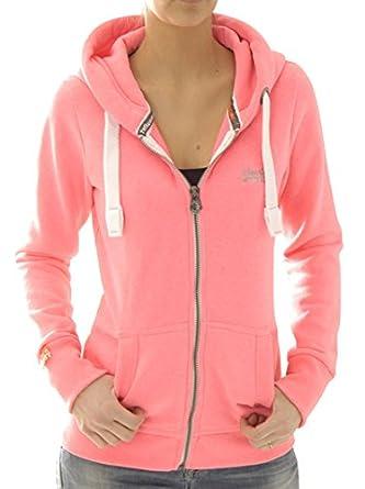 Superdry Orange Sweat Ruy Femme G20kx012f1 Shirt Pour Logo Primary vg6vTq