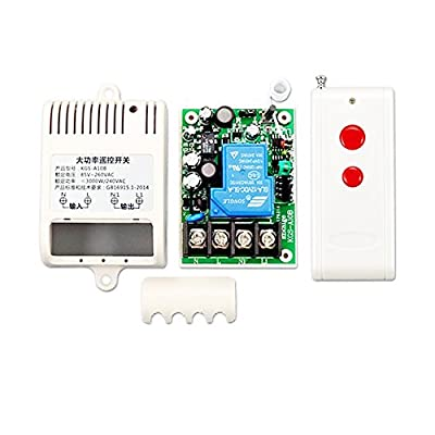 Ximimark AC 220V Long Distance High Current 30A Relay RF Wireless Remote Control Switch