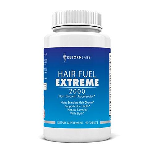 Cheveux carburant Extreme | Hautement recommandé supplément de croissance de cheveux | Utilise les meilleures vitamines cheveux | Arrêter la perte de cheveux & pousser rapidement les cheveux | Bloquer la DHT naturellement | Comprend plus de 20 ingrédi