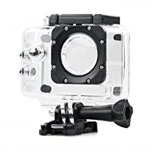 Coromose 30M/90ft Waterproof Dive Housing Case Protection for SJ4000 Sports Camer