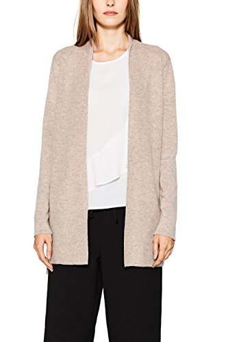 ESPRIT Collection Damen Strickjacke Braun (Taupe 5 244) JwKX4ESmyn