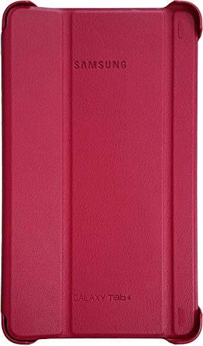 Samsung Folio Book Cover Case for Galaxy Tab 4 7.0 inch - Plum Red (Inch Tab 4 Samsung 7 Cases)