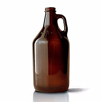 amazon com packaging options direct 64 oz amber glass beer