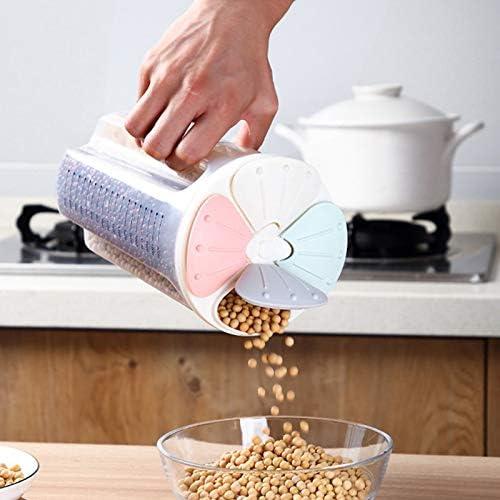 feeilty Gro/ße Vorratsdosen Set Gesunde beh/älter Getreide Korn trockenfutter lagertank klarsichtdeckel kunststoffkoffer