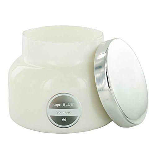 - Capri Blue 20oz White Signature Jar - Volcano