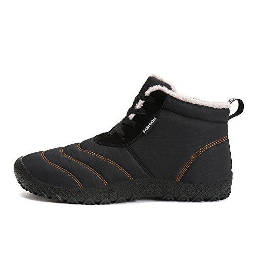 Sportive Verde Invernali Lace da Scarpe Boots Stivali Inverno Up Stivaletti IceUnicorn Scarpe Donna Neve Caloroso Allineato Pelliccia Uomo IqTwHfWO