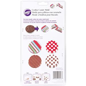 Wilton Dot/Stripe Cookie Candy Mold
