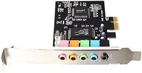 Sharplace Tarjeta De Audio De Sonido PCI 6Channel 5.1 ...