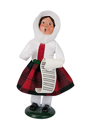 Byers' Choice Bailey Girl w/Music Caroler Figurine #1182G from The Caroling Families - Girl Choice Byers