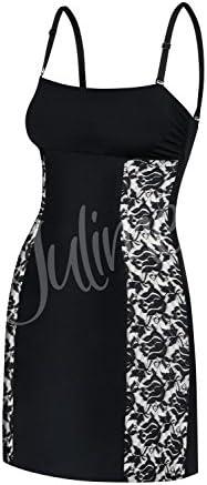 Julimex Lingerie Combinaci/ón con Encaje para Mujeres Sugar