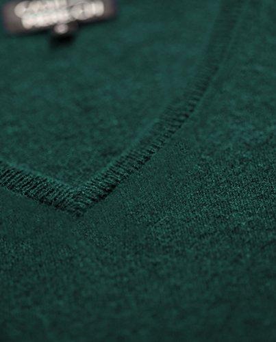 V xxl Scollo Pullover A Con Sweater xs Cachemire Verde Scuro Da Maglione 100 Donna AHWaHq