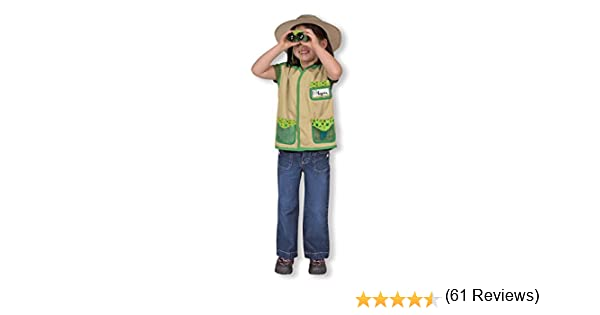 Melissa & Doug - Disfraz para explorador de jardín (14789): Amazon ...