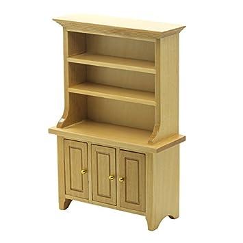 Dolls House Miniature Furniture Pine Kitchen Dresser 1//12 Scale