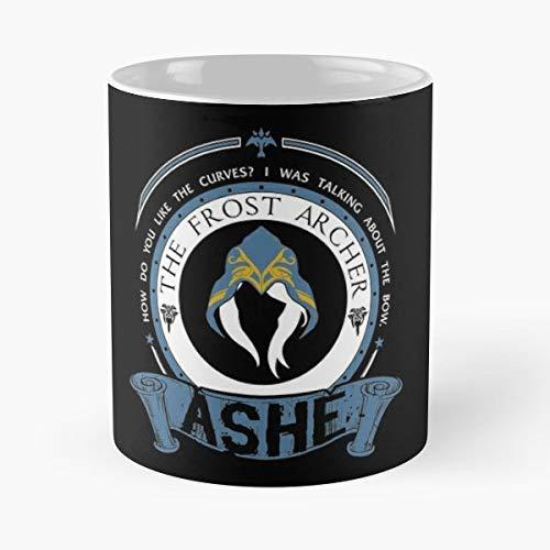 Lol Ashe League Of Legends Gift Coffee/tea Ceramic Mug Father Day