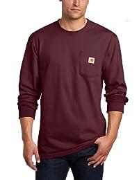 Carhartt Men's Tall Pocket Long-Sleeve Workwear T-Shirt K126