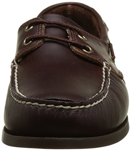 Timberland Cedar Bay Boat Shoe, Náuticos Para Hombre Marrón (Dark Brown Pull Up 242)
