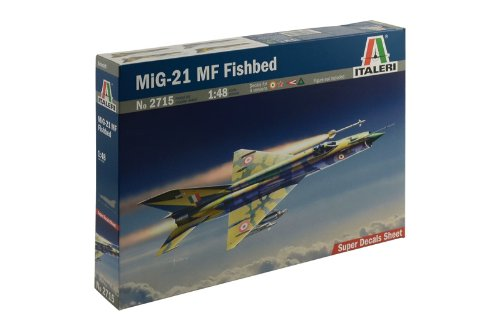 ITALERI 552715 1/48 Mig-21 MF Fishbed ITAS2715 for sale  Delivered anywhere in USA