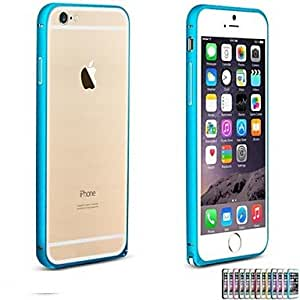 YULIN Hippocampal Buckle Design Curved Metal Bumper for iPhone 6 (Assorted Colors) , Pink