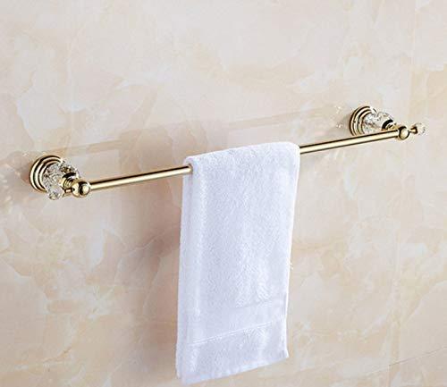 バスルーム用品トイレ/浴室用バスハードウェアセット金めっきタオルリングペーパーホルダーコートフックヘアドライヤーホルダーコーナーシェルフ、Q (色 : I)  I B07PYN6VCH