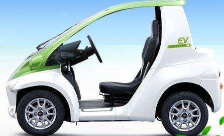 超小型電気自動車COMS CANプローブ