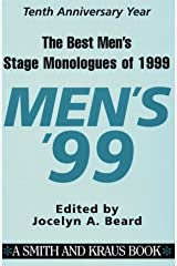 The Best Men's Stage Monologues of 1999 Paperback