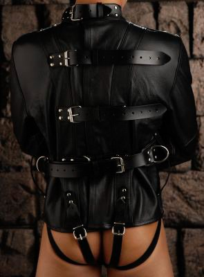 Strict Leather Premium Straightjacket,Black, Large by Strict Leather