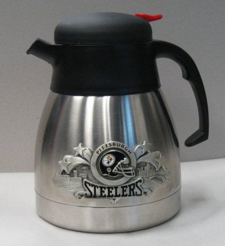 (Pittsburgh Steelers Stainless Steel Vacuum Flask 1 Littre)
