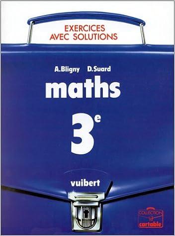 En ligne téléchargement gratuit Maths 3e : exercices avec solutions pdf, epub ebook