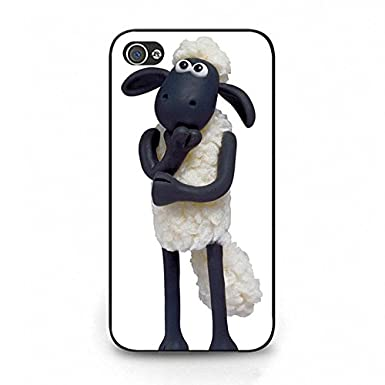 huge discount 6bd9c c2b78 Distinctive Shaun the Sheep Phone Case Cover For Iphone 4/4S: Amazon ...