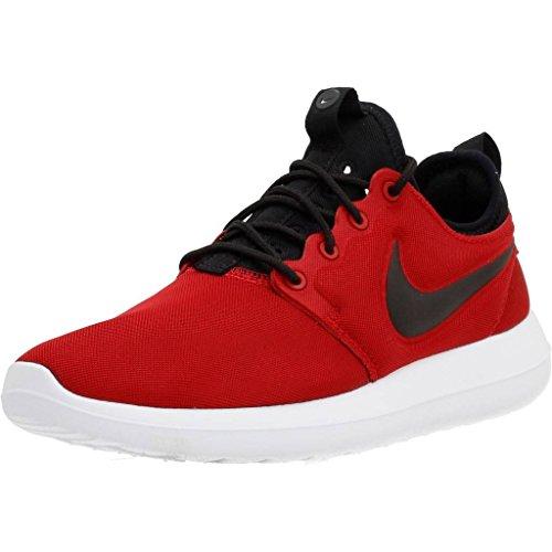 Nike - Roshe Two Red-Black - Sneakers Femme