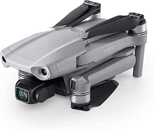 DJI Mavic Air 2 Bundle Fly More – Drone avec Vidéo 4K Ultra HD, Photo 48 Mégapixels, Capteur CMOS ½ pouces, Autonomie de 34 min, ActiveTrack 3.0, Cardan Trois Axes – Gris