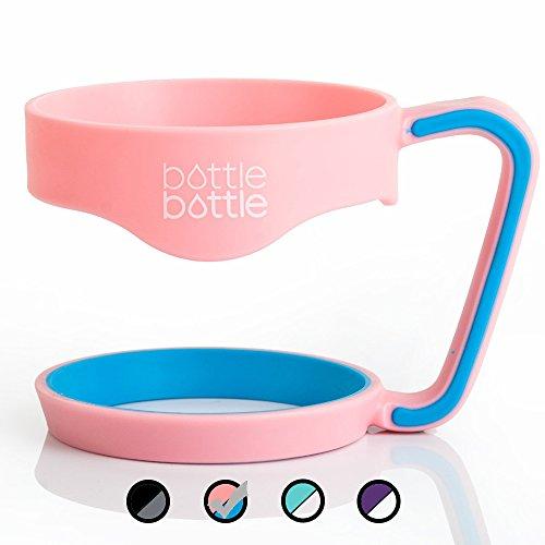 Bottlebottle 30 oz Tumbler Handle - Anti- Slip Travel Mug Gr